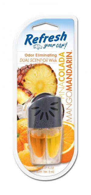 REFRESH Olejek 2 zapachy - Pina Colada Mango Mandarin