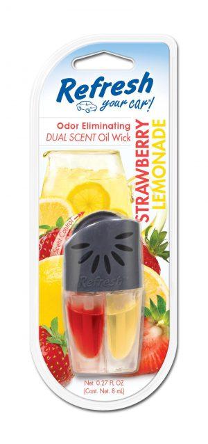 REFRESH Olejek 2 zapachy - Fresh Stawberry Cool Lemon
