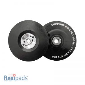 Flexipads Dysk pod fibrę117mm M14 SOFT, czarny ISO (11523)