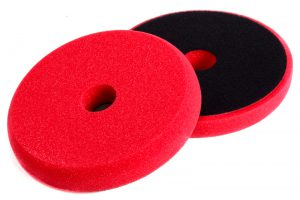 NAT Gąbka polerska DA Czerwona średnio miękka 160mm
