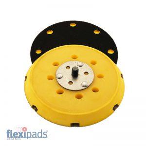 Flexipads Dysk wsporczy rzep 150mm 8H+1 5/16-M8 Hard (17094)