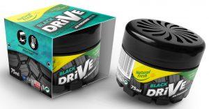 NATURAL FRESH DRIVE Zapach samochodowy Black
