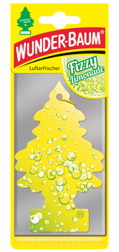 WUNDER-BAUM Drzewko zapachowe, odświeżacz samochodowy - Zapach Fizzy Limonade