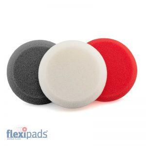 Flexipads Aplikator polerski 3 kolorowy okrągły (3 szt.) (40850)