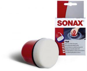 SONAX P-Ball Uchwyt z gąbką polerską