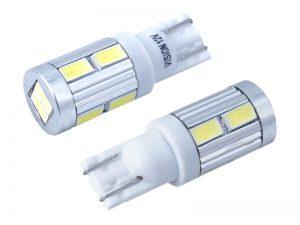 VISION Żarówka PW5W (T10) 12V 10x 5730 SMD LED, CANBUS, biała, 2 szt. (58931)