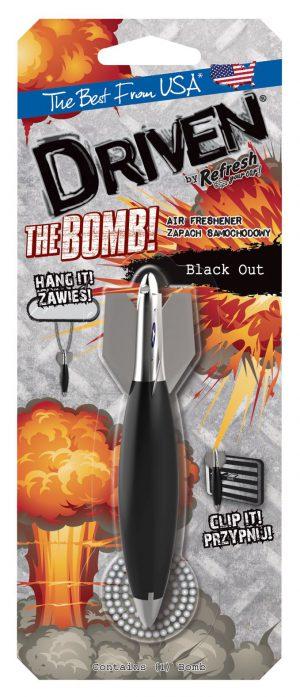 DRIVEN Bomba Black Out Zapach samochodowy