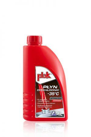 Plak Autorad G12+ Gotowy płyn do chłodnic -35°C 1L