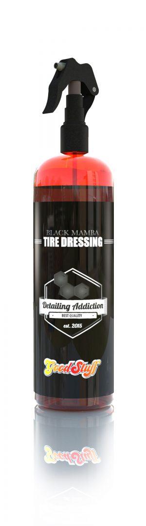 Good Stuff Black Mamba Tire Dressing - matowy dressing do opon 1000 ml
