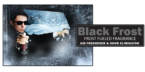 CHEMICAL GUYS BLACK FROST SCENT Odświeżacz powietrza Zapach Czarnego mrozu 117ml