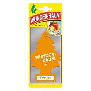 WUNDER-BAUM Drzewko zapachowe, odświeżacz samochodowy - Zapach Brzoskwinia