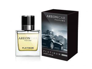 AREON Car Perfume Glass Zapach Platinum 50ml