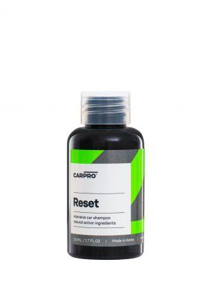 CarPro Reset - szampon pielęgnuje i odtyka powłoki kwarcowe/ceramiczne 50ml