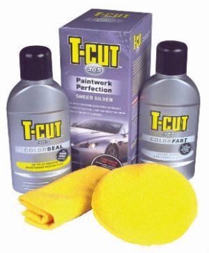 CARPLAN T-Cut 365 Zaawansowany zestaw do ochrony lakieru Srebrny