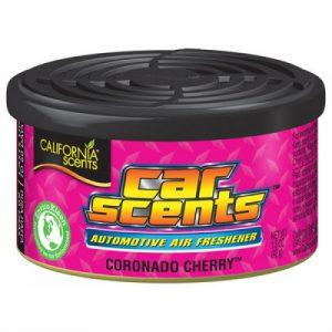 CALIFORNIA SCENTS Odświeżacz powietrza Car Scents - Zapach Coronada Cherry