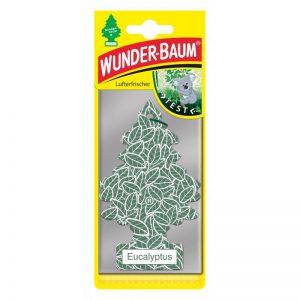 WUNDER-BAUM Drzewko zapachowe, odświeżacz samochodowy - Zapach Eukalyptus