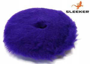 Evoxa Sleeker Master Wool Purple – futro polerskie, usuwa głębokie zarysowania 130/150mm