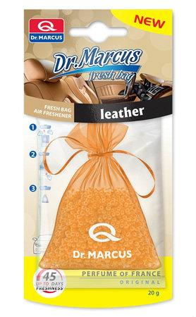 DR. MARCUS FRESH BAG Wielofunkcyjny odświeżacz - Zapach Leather-Skóra