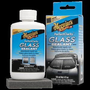 MEGUIAR'S Perfect Clarity Glass Sealant Niewidzialna wycieraczka (118ml)