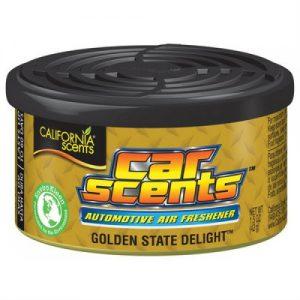 CALIFORNIA SCENTS Odświeżacz powietrza Car Scents - Zapach Golden State Delight