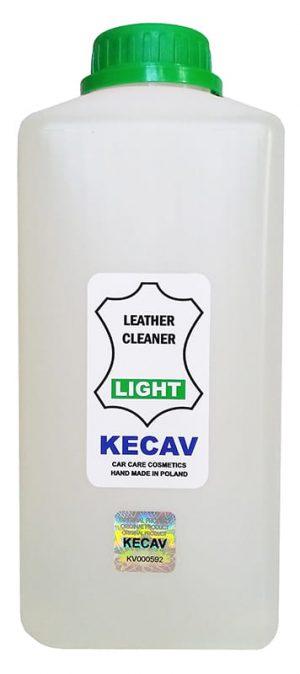 KECAV Leather Cleaner LIGHT Płyn do czyszczenia skóry 1000ml