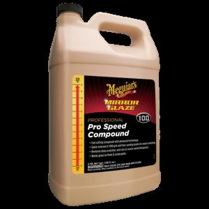 MEGUIAR'S Pro Speed Compound 1 Gallon Intensywnie ścierna bezsilikonowa pasta polerska (3,79L)