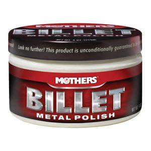 Mothers Billet Metal Polish - pasta do polerowania aluminium felg 112g