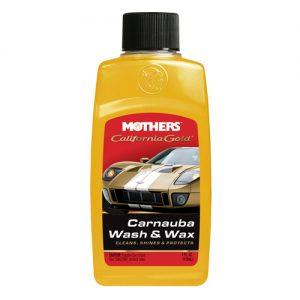 Mothers California Gold Carnauba Wash & Wax Szampon z woskiem 118ml