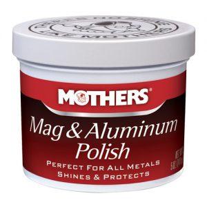 Mothers Mag & Aluminum Polish - pasta do polerowania aluminium felg 141g