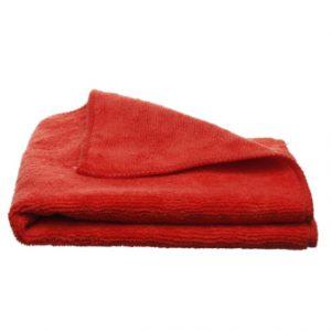 Mikrofibra Uniwersalna czerwona 30x30cm 220G/m2