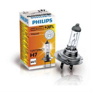 PHILIPS Żarówka samochodowa H-7 12V 55W PX26d Vision +30%