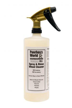 Poorboy's World Spray & Rinse Środek do czyszczenia felg 473ml