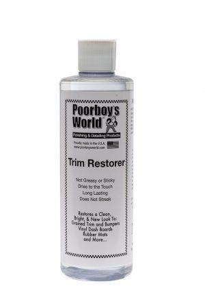 Poorboy's World Trim Restorer Dressing do plastików zewnętrznych 473ml
