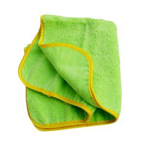 Poorboy's World Deluxe Mega Plush Towel Ręcznik z mikrofibry do polerowania zielony