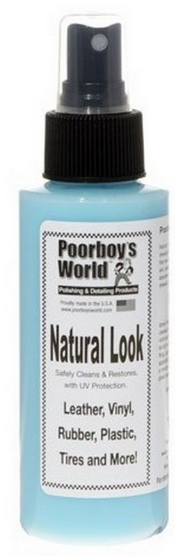 Poorboy's World Natural Look Pielęgnacja skóry, plastików i opon 118ml