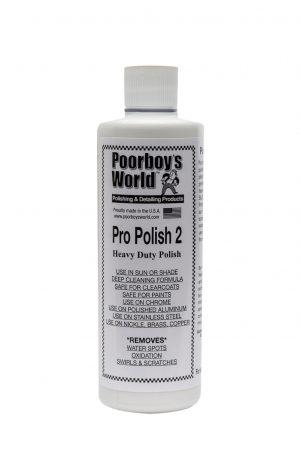 Poorboy's World Pro Polish 2 Cleaner mleczko polerskie 473ml