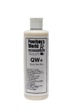 Poorboy's World Quick Wax Plus (QW+) Quick detailer + Wosk 473ml