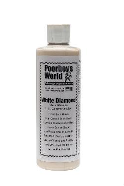 Poorboy's World White Diamond Show Glaze Politura do jasnych lakierów 473ml