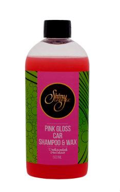 Shiny Garage Pink Gloss Shampoo&Wax Szampon do samochodu z woskiem 500ml