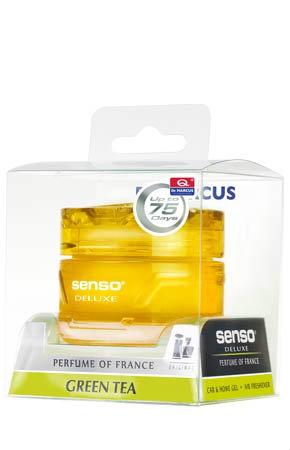 DR. MARCUS SENSO DELUXE - Zapach samochodowy Green tea