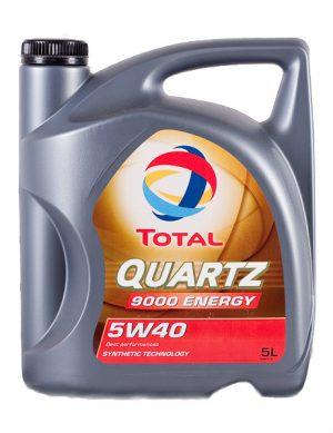 TOTAL QUARTZ 9000 ENERGY Olej silnikowy 5W40 5L