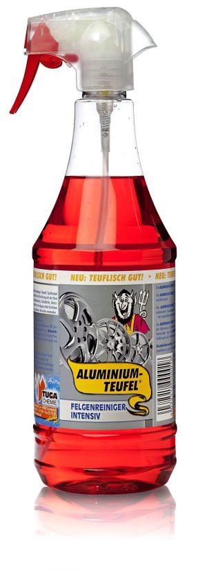 """TUGA CHEMIE Aluminium Teufel Płyn do czyszczenia felg """"Krwawiąca felga"""" 1L"""