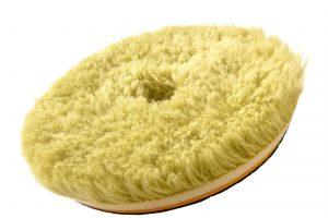 Honey Combination Wool Pad Ultra Cut - mocno tnący pad z wełny naturalnej i syntetycznej 130/150 mm