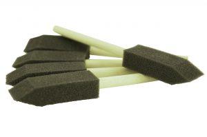 ValetPRO Foam Detailing Brushes - zestaw 5 piankowych pędzelków