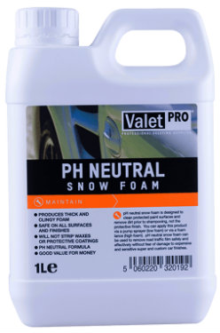 ValetPRO pH Neutral Snow Foam Piana aktywna o neutralnym PH 1L