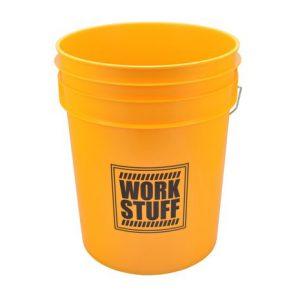 Work Stuff WASH żółte wiadro detailingowe 20 L