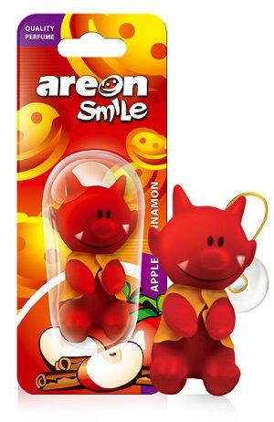 AREON TOY Smile Zapach Apple&Cinnamon
