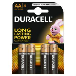 Baterie DURACELL LR6 / AA / MN 1500 4szt