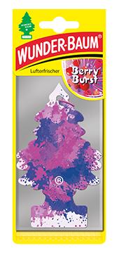 WUNDER-BAUM Drzewko zapachowe, odświeżacz samochodowy - Zapach Berry Burst