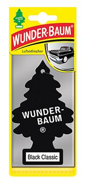 WUNDER-BAUM Drzewko zapachowe, odświeżacz samochodowy - Zapach Black
